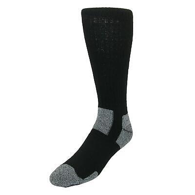 New Jefferies Socks Men's Steel Toe Boot Work Socks (2 Pair Pack)