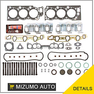 88-95-Toyota-Pickup-4Runner-T-100-3-0-SOHC-3VZE-Head-Gasket-Set-Bolts