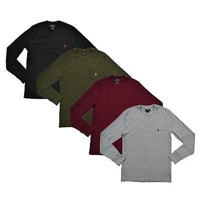 Polo Ralph Lauren Mens Waffle Knit Tee Thermal T-Shirt S M L Xl Xxl Prl New Nwt