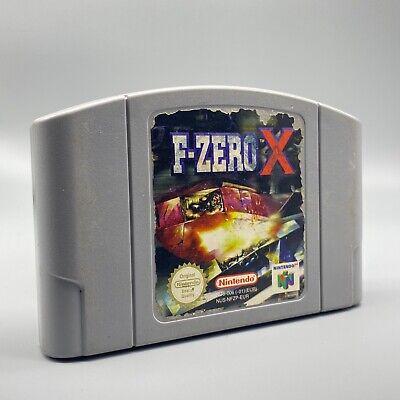 Jeu - F-Zero X - Nintendo - PAL - N64 - Nintendo 64 (ML)