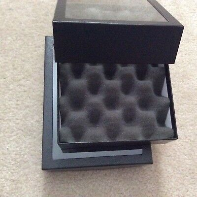 Box Of 2 Special 6 X 8 X 2 Display Cases For Marbles With Convoluted Foam