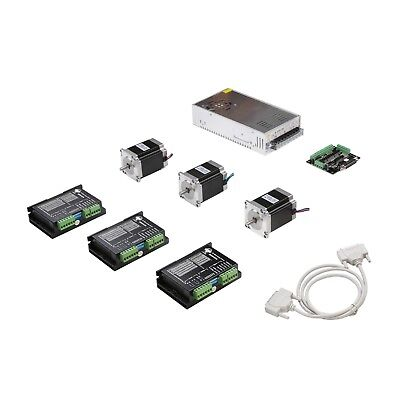 Us Free Shipnema 23 Stepper Motor 270oz 3a 3 Axis Cnc Kit Router High Quality