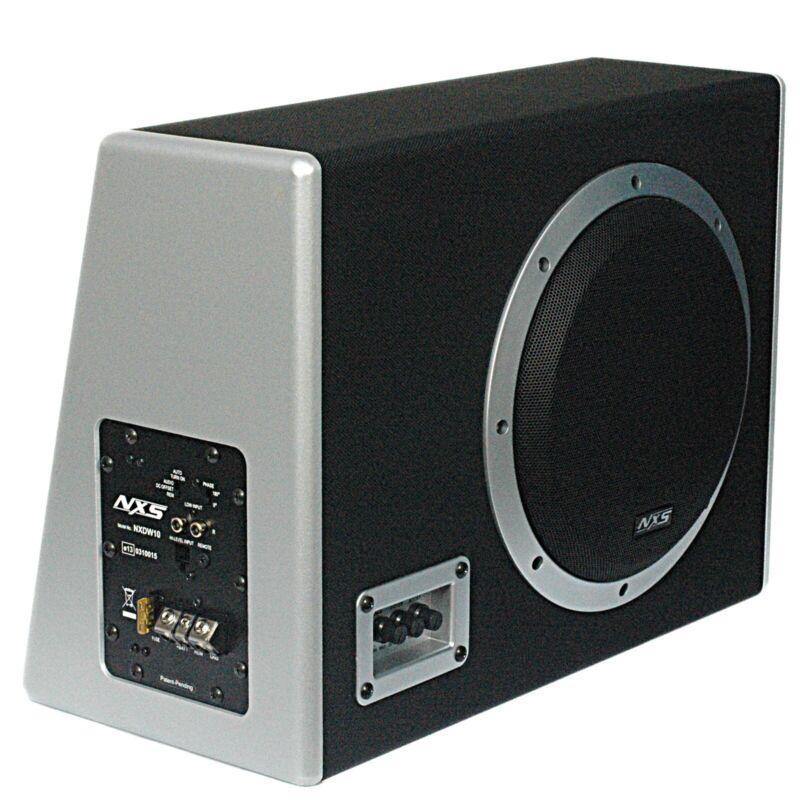"NXS Mobile Audio - Powered 250 Watt 10"" Car Subwoofer Acti"