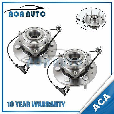 Front Wheel hub bearing For 07-14 Chevy Suburban Cadillac Escalade 4WD 515096x2
