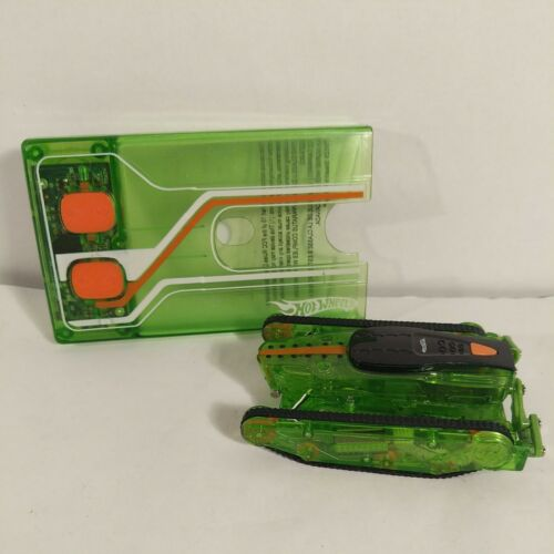Hot Wheels 2010 RC Stealth Rides Power Tread Vehicle Green Orange T9529 - $14.99