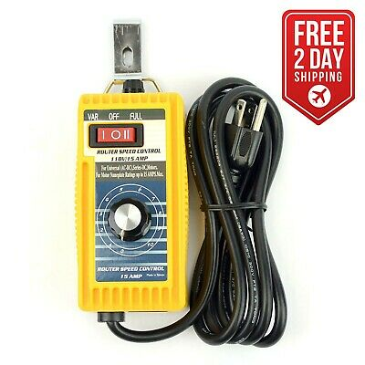 Big Horn 18852 Professional Router Speed Control