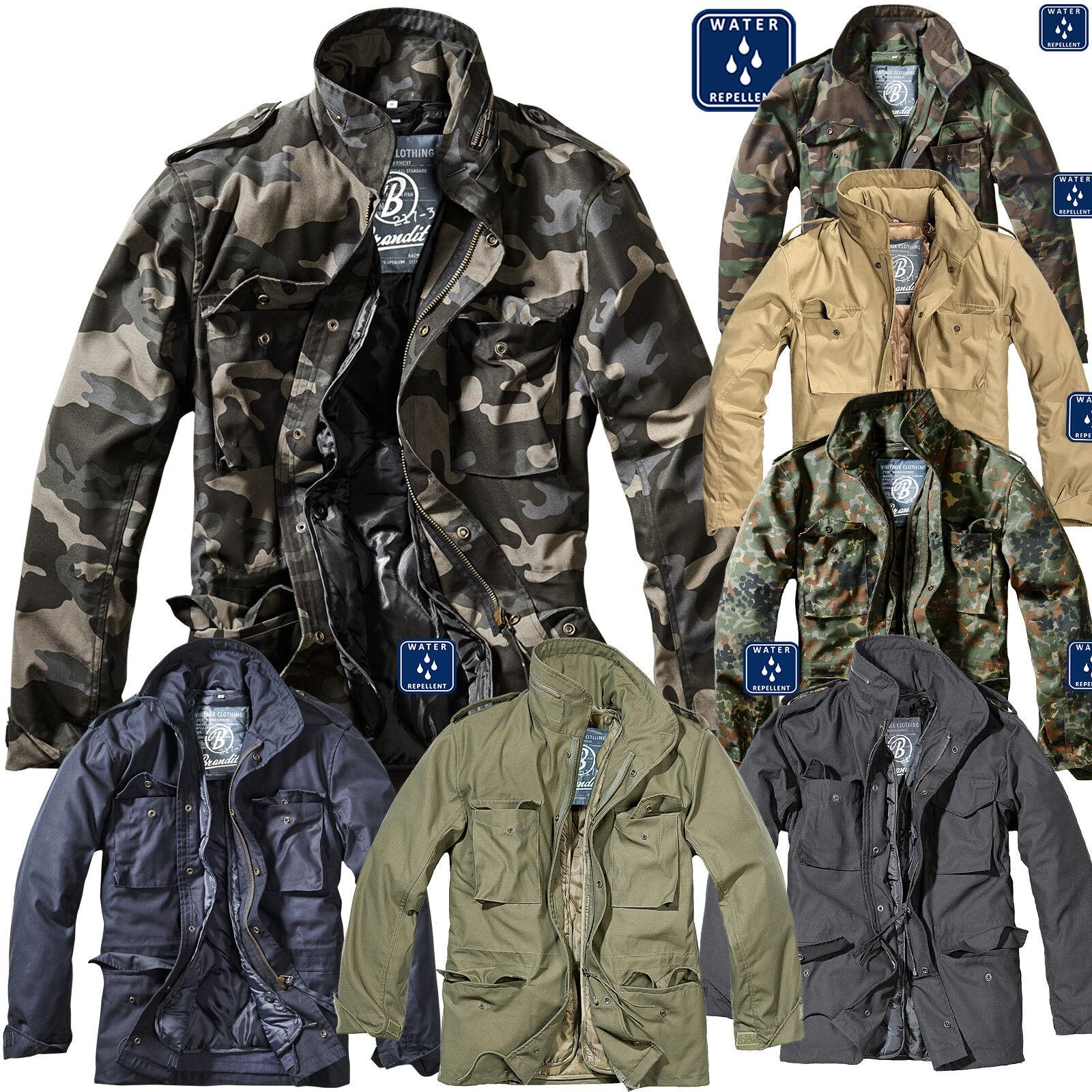 Brandit M65 Standard Herren Winter jacke winter Parka army jacke NEU 2in1 warm