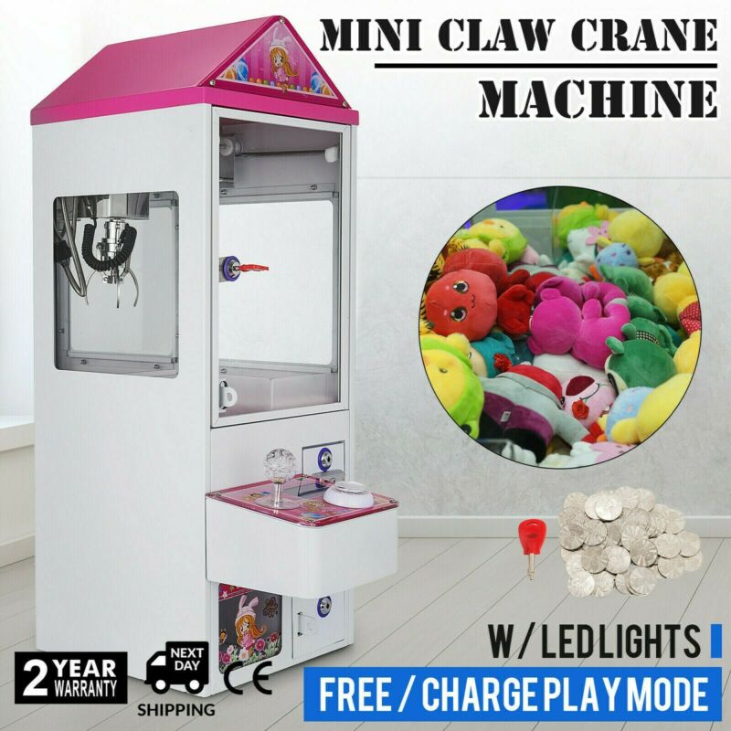 Mini Claw Crane Machine Candy Plush Toy Grabber Anti-rust Shake-proof