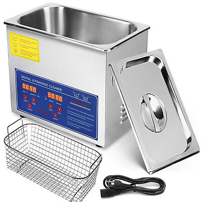 New 3l Liter Industry Ultrasonic Cleaners Cleaning Equipment 220w Wtimer