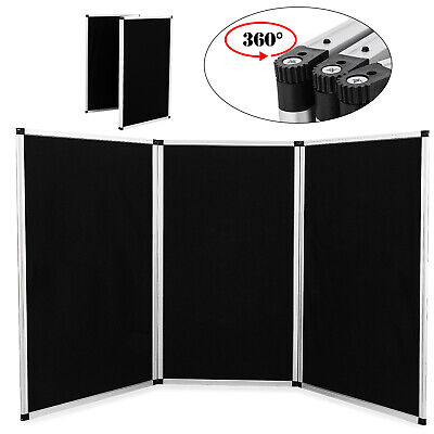 3 Panel 6ft Tabletop Folding Trade Show Display Presentation Board Noheader