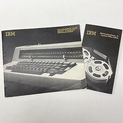 Ibm Correcting Selectric Iii Typewriter Cassette Operating Instructions