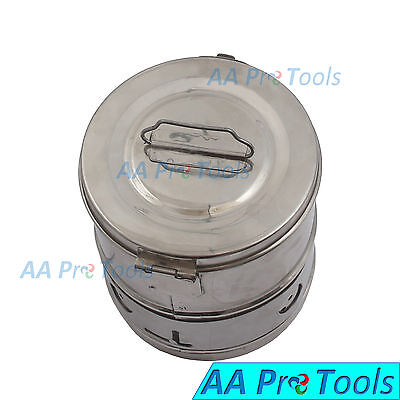Aa Pro Dressing Drum 6 X 6 Surgical Veterinary Instruments