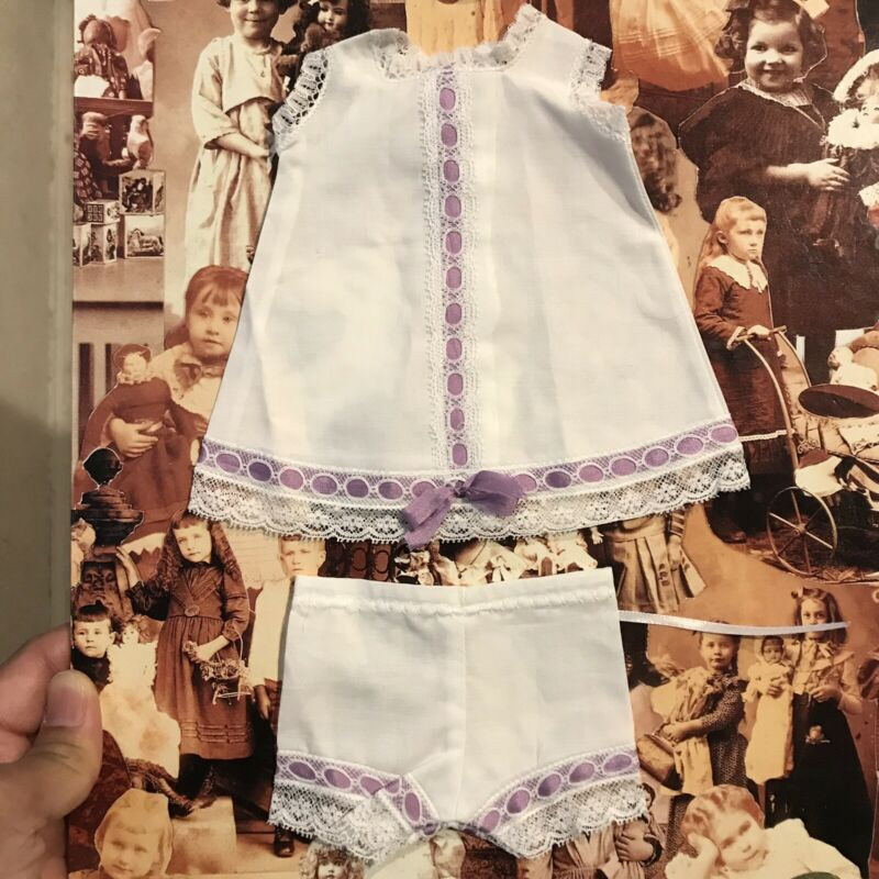 DAINTY UNDERWEAR SET for BLEUETTE Antique Doll Reproduction