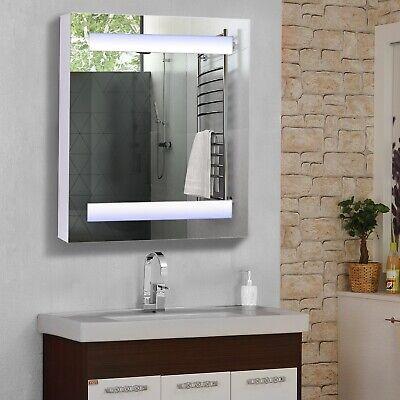 LED Wall Cabinet Mirror Bathroom Fashion 10w Light Modern Storage