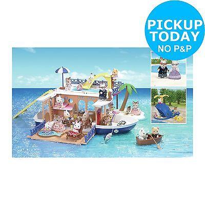 Sylvanian Families Seaside Cruiser Houseboat Value Set