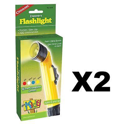Flashlights For Kids (Coghlan's Explorer's Flashlight for Kids Camping Light Lamp Signal Toy)