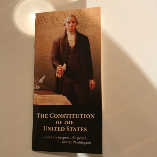 United States Constitution Pocket Book Paperback Small Little Easy To Carry Usa