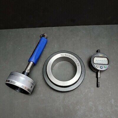 Mitutoyo Digital Indicator 543-392b Diatest 75mm Bore Gage Ring Machinist