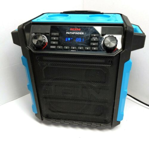 ION Pathfinder High Power Waterproof Bluetooth Speaker Light Blue
