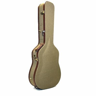 Deluxe Cloth Tweed Dreadnought Guitar Case 6 or 12-String Acoustic Guitars AHCDL