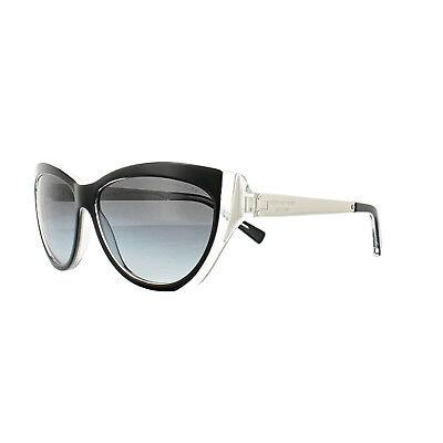 1ab385fea33 Michael Kors Sunglasses Caneel MK2005 303311 Black Crystal Gold Grey  Gradient