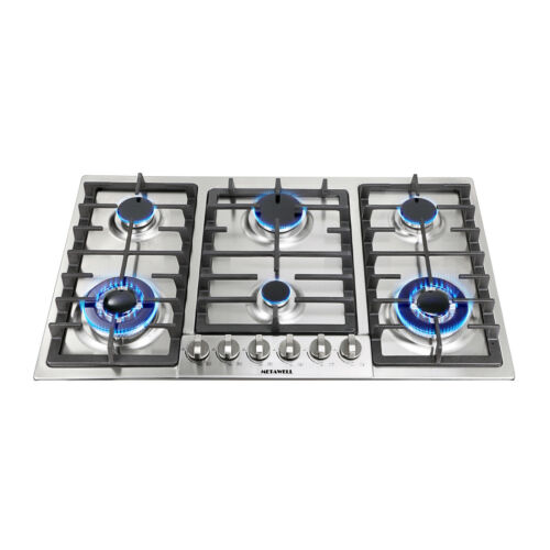 "23"" 28"" 35"" Cooktops Built-In NG/LPG Hobs 2Color"