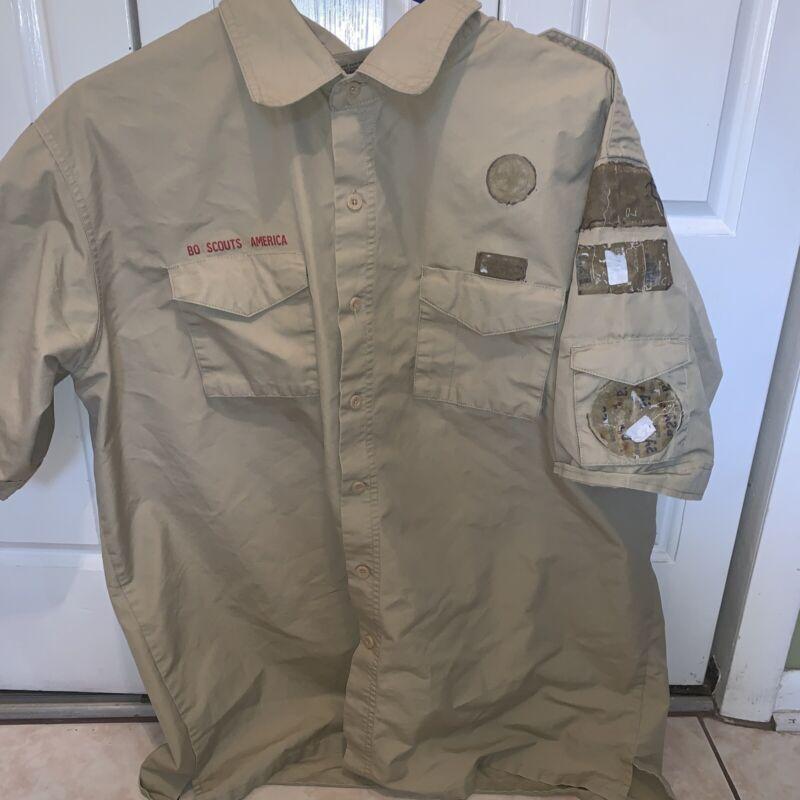Boy Scout BSA UNIFORM SHIRT New Style Men