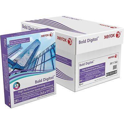 Xerox Bold Digital Printing Paper 8 12 X 11 White 500 Sheetsrm 3r11760