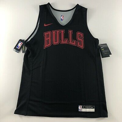 Nike NBA Chicago Bulls Player Issue Training Jersey Vest Reversible 3XL XXXL