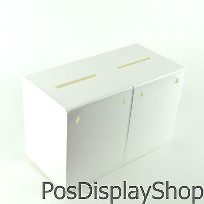 Voting / Yes No / Competition Double Sided / Twin Suggestion Box PDS9470 Double