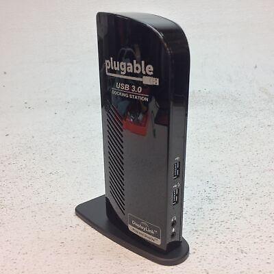 Plugable UD-3900 USB 3.0 Universal Dual Display Docking Station w/Stand - NO