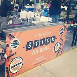"Italian Street Food mobile business""Stick On Grill l'arrosticino"" Melbourne CBD Melbourne City Preview"