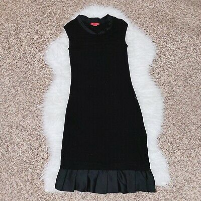 Korea ELLE Sport Black Tunic Sleeveless Women Dress Zara Inspired