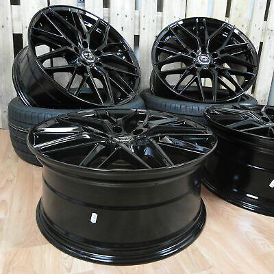 18 Zoll Alu Felgen DM08 5x112 schwarz Audi A3 A4 A5 A6 S3 VW Golf 7 Mercedes