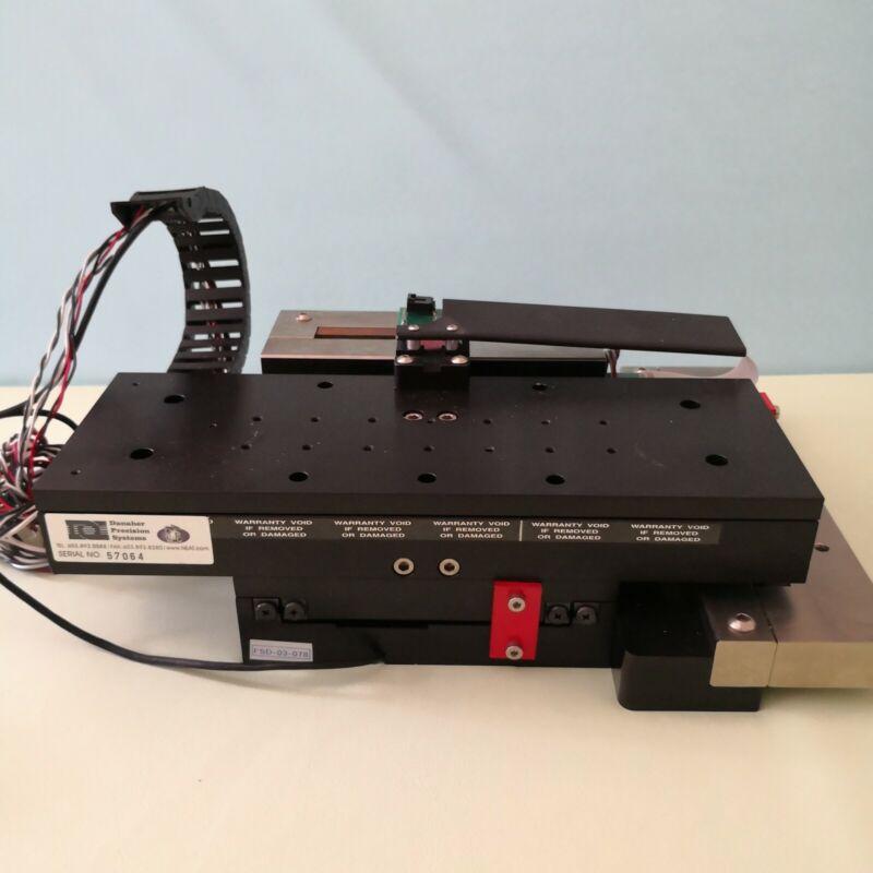 Danaher precision XY stage cross roller voice coil motor Micro-E encoder FTIR