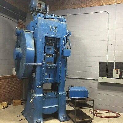 400 Ton Bliss Model 24 Knuckle Joint Press