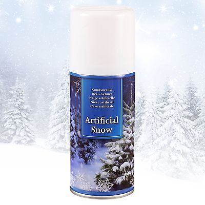 Spray Synthetic Snow Artificial Fake Craft Decoration Christmas Festive Paint