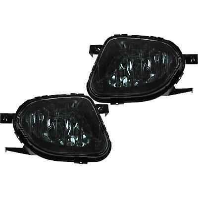 Nebelscheinwerfer Set für Mercedes W211 Bj. 02-06 Sprinter 906 Bj. 06-13 schwarz