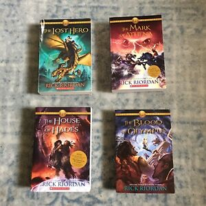 RICK RIORDAN  The Hero's Of Olympus / Set Of 4