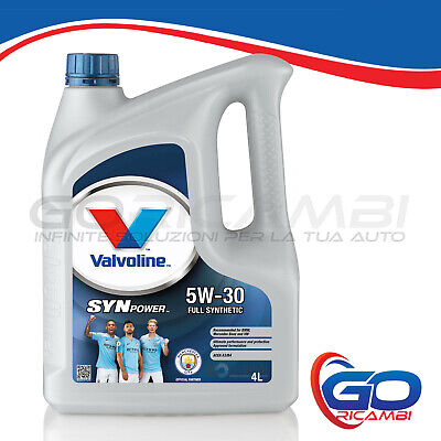 Olio Motore Valvoline - SYNPOWER 5w30 da 4Lt - cod. VE11247