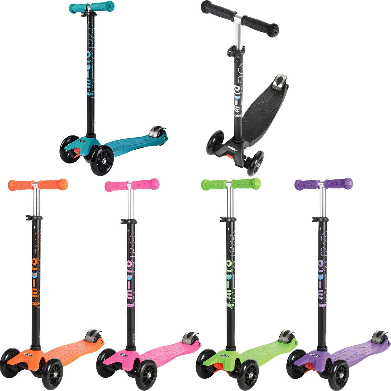 Micro Maxi Micro T Scooter Kinder-Cruiser Kids Scooter Pedal