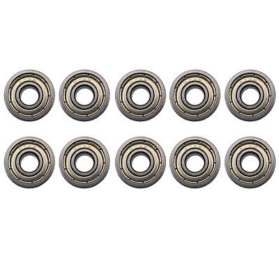 Us Stock 10pcs 605zz 605z Miniature Bearings Ball Mini Bearing 5mm X 14mm X 5mm