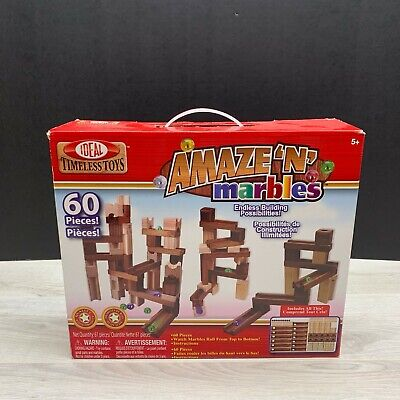Amaze 'N' Marbles  60/Pkg Ideal Timeless Toys Set