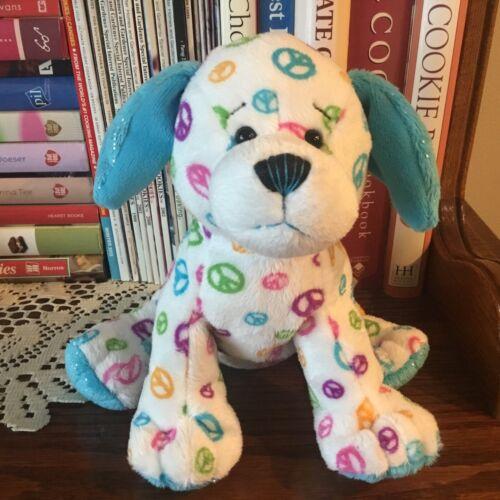 Webkinz Ganz Peace Puppy HM440 Dog Plush Stuffed Animal Soft Toy NO CODE