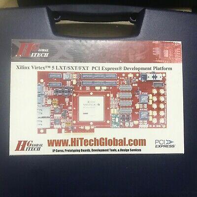 Hitech Xilinx Virtex-5 Pcie Development Kit Htg-530 Htg-v5-pcie-200-2 Xc5vfx200t