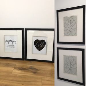 Prints with frames