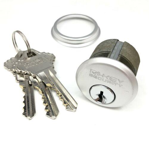 "Mortise Lock Cylinder 1"" for Store Front Door Adams Rite Lock Free Keyed Alike"