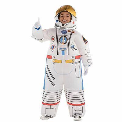 Kinder Aufblasbar Astronaut Kostüm Jungen Mädchen Raum Anzug Kostüm Astronaut