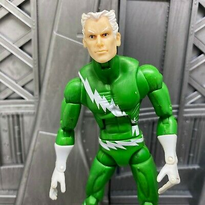 "Marvel Legends Hasbro Blob BAF X-Men Variant Green Quicksilver 6"" Action Figure"