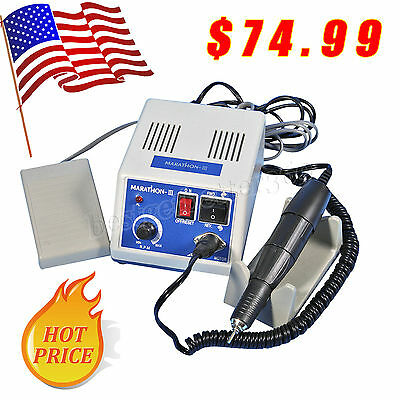 Dental Lab Marathon -iii Micromotor Electric 35000 Rpm Handpiece Polishing Trn3v